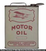 Nichols Motor Oil Can