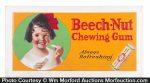 Beech-Nut Chewing Gum Sign