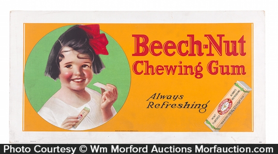 Beech-Nut Chewing Gum Sign