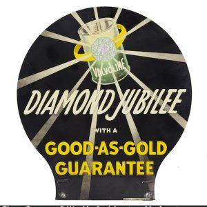 Valvoline Diamond Jubilee Sign