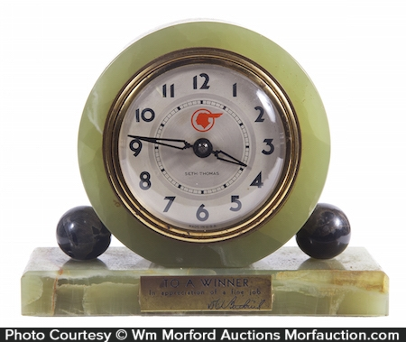 Pontiac Desk Clock