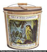 Nill & Jess Chocolate Candy Bucket
