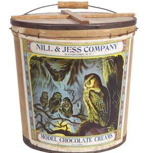 Nill & Jess Chocolate Candy Bucket