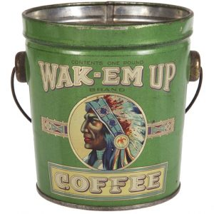 Wak-em Up Coffee Pail