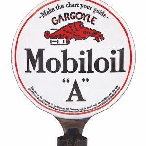 Gargoyle Mobiloil A Porcelain Sign