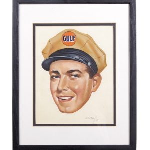 Gulf Oil Original Artwork