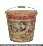 Sweet Cuba Tobacco Pail