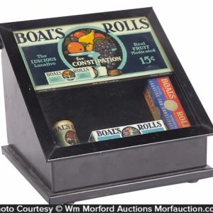 Boal's Rolls Display Case