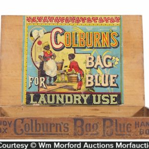 Colburn's Bag Blue Laundry Box