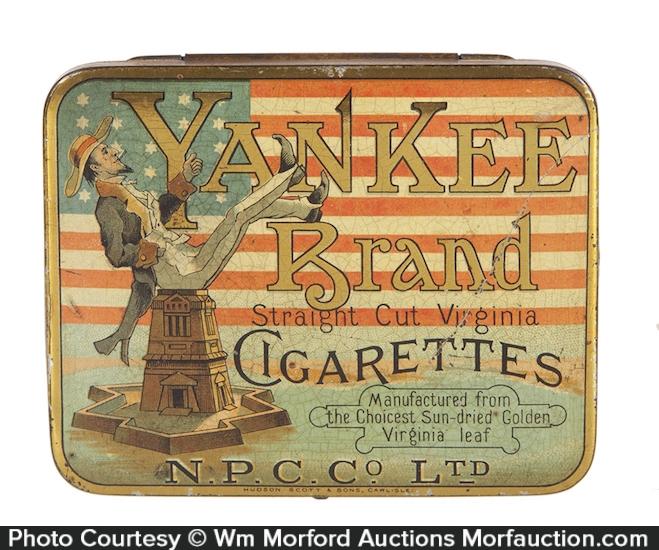 Yankee Cigarettes Tin