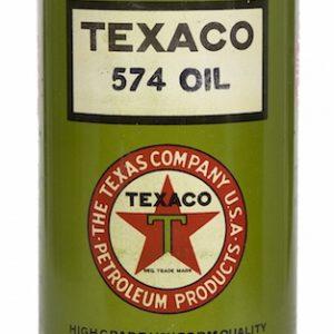 Texaco 574 Motor Oil Can