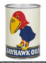 Jayhawk Oil Can
