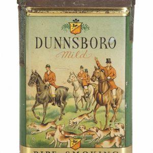 Dunnsboro Pocket Tobacco Tin