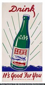 Lift Soda Sign