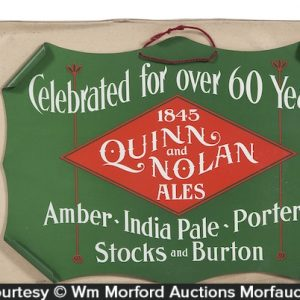 Quinn & Nolan Brewery Sign