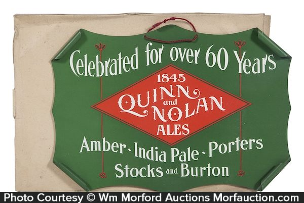 Quinn & Nolan Brewery Sign