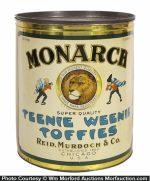 Monarch Teenie-Weenie Toffies Tin