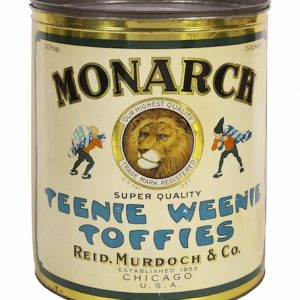 Monarch Teenie-Weenie Toffies Tin