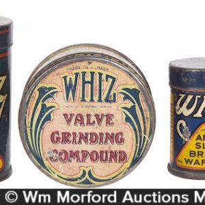 Vintage Whiz Tins