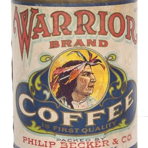 Warrior Coffee Can