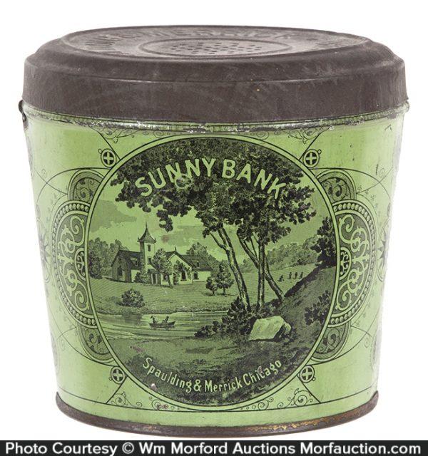 Sunny Bank Tobacco Pail