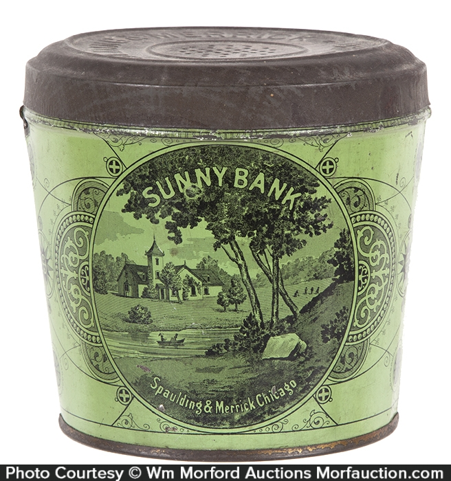 Sunny Bank Tobacco Pail