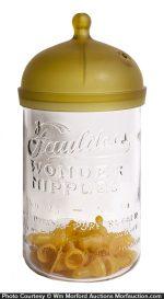 Faultless Wonder Nipples Jar
