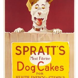 Spratt's Dog Cakes Poster