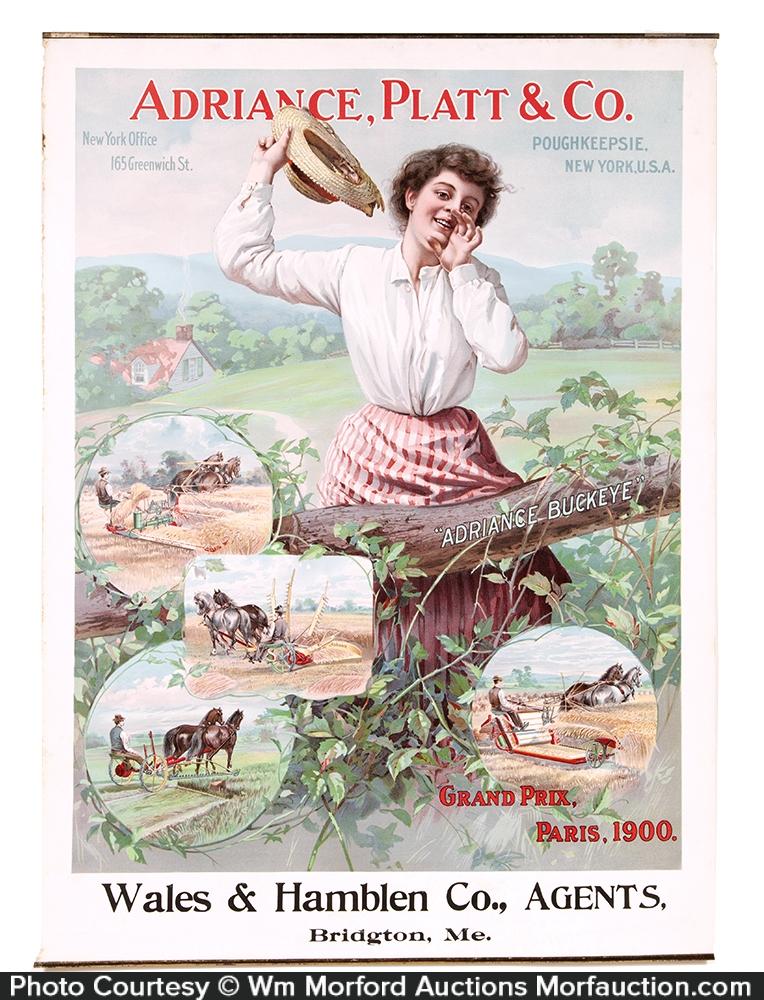 Adriance Platt Poster