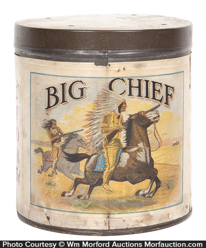 Big Chief Cigar Can