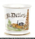 Oil Wildcatter Shaving Mug