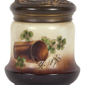 Gambling Tobacco Jar
