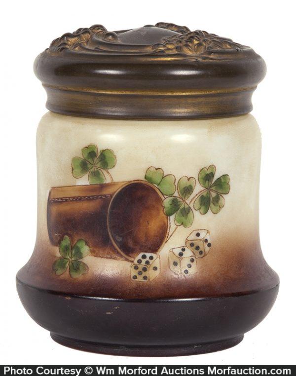 Gambling Tobacco Jar