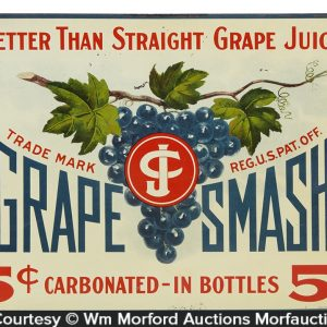 Grape Smash Sign