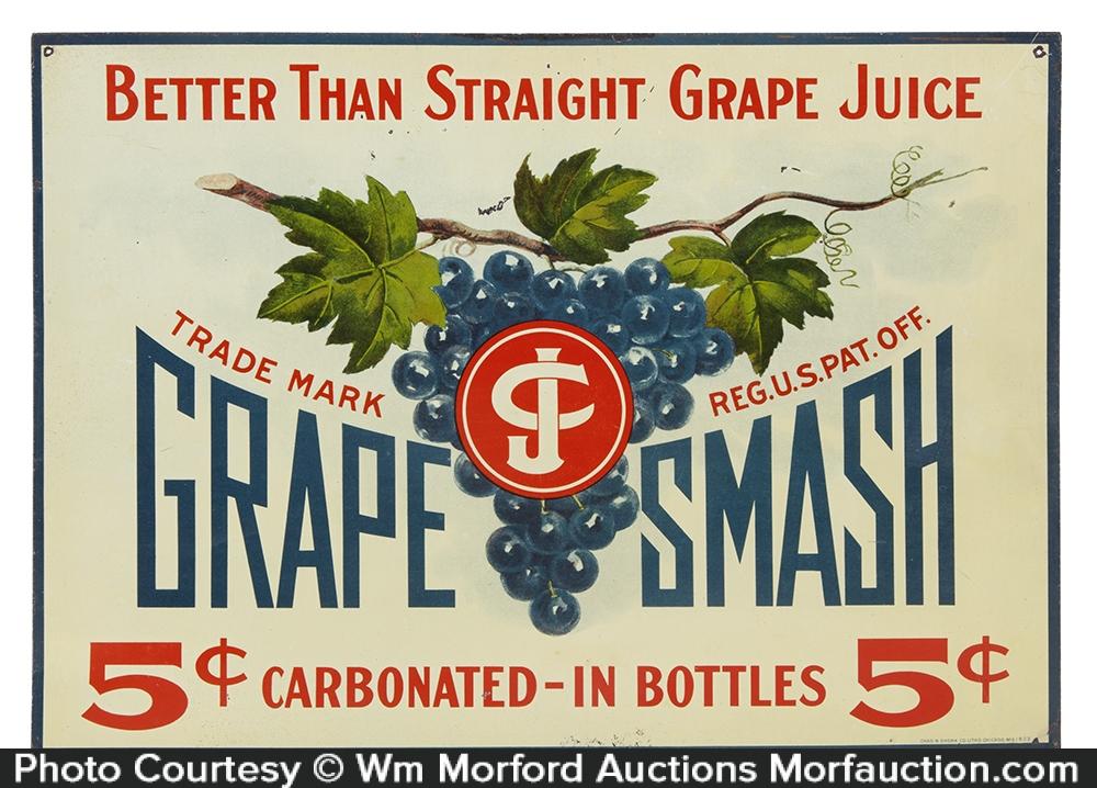 Grape Smash Sign
