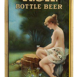 R & H Beer Sign