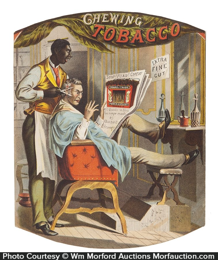 Board Of Trade Tobacco Litho