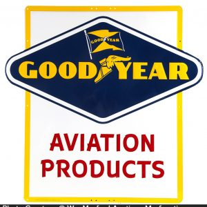 Good Year Aviation Products Sign