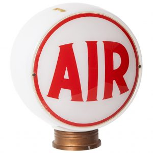Service Station Air Pump Globe