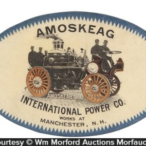 Amoskeag Power Works Pocket Mirror