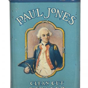 Paul Jones Tobacco Tin