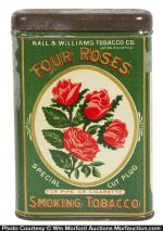 Four Roses Pocket Tobacco Tin
