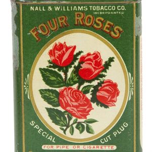 Four Roses Pocket Tobacco Tin