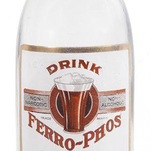 Ferro-Phos Syrup Bottle