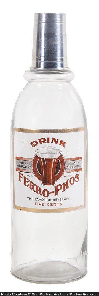 Ferro-Phos Syrup Bottle