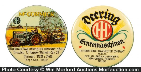 McCormick Deering Pocket Mirrors
