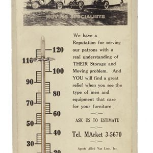 Ironbound Storage Thermometer