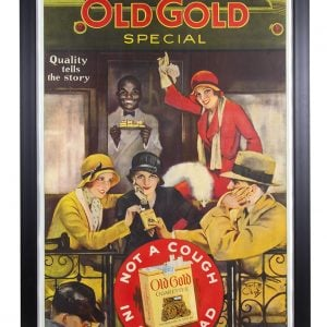 Old Gold Cigarettes Sign