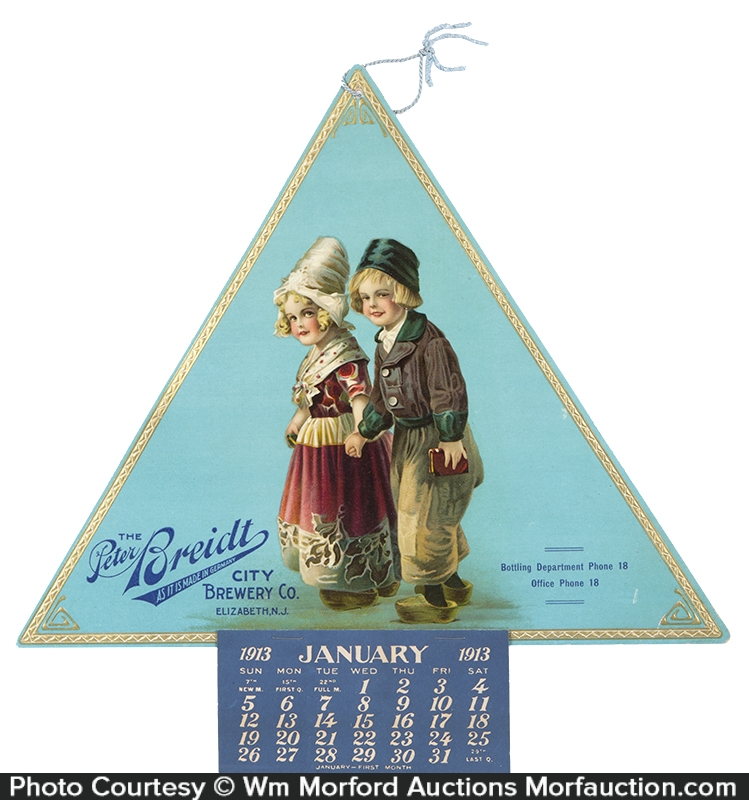 Peter Breidt Brewery Co. Calendar