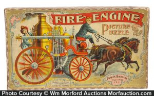 Fire Engine Picture Puzzle